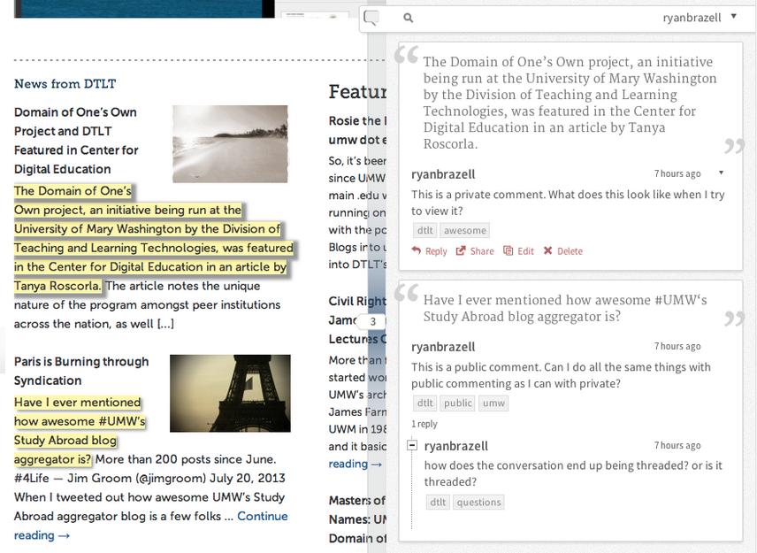 Showcase - Annotator - Annotating the Web